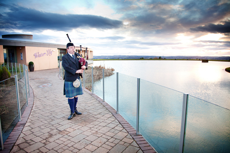 wedding piping vu bathgate