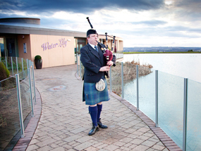 bagpiper for hire