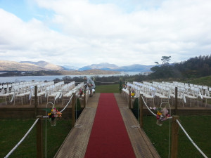 Stunning Setting For A Wedding At Boturich Castle